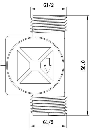 G1/2 Water Flow sensor