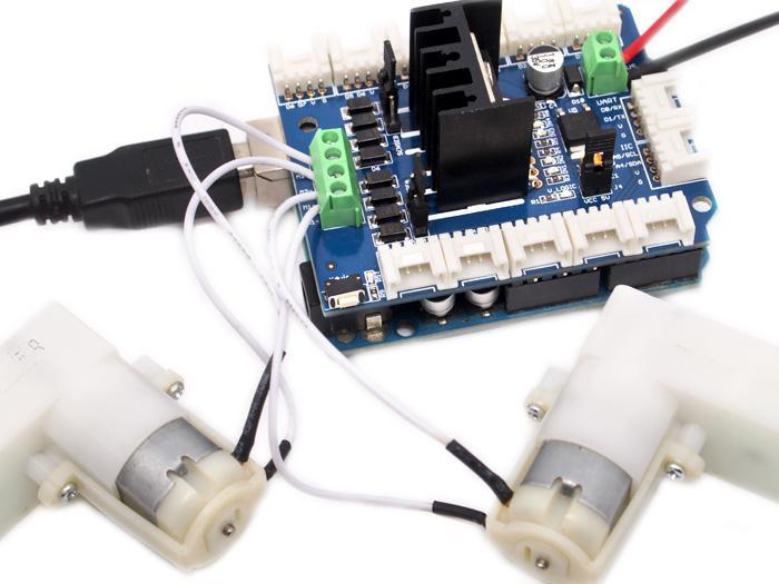Adding Custom Boards To The Arduino V1: Motor Shield V1.0