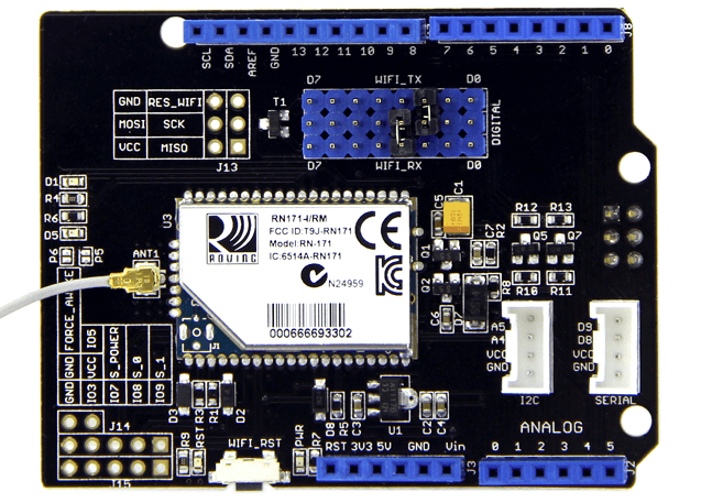 Wifi shield v1 2